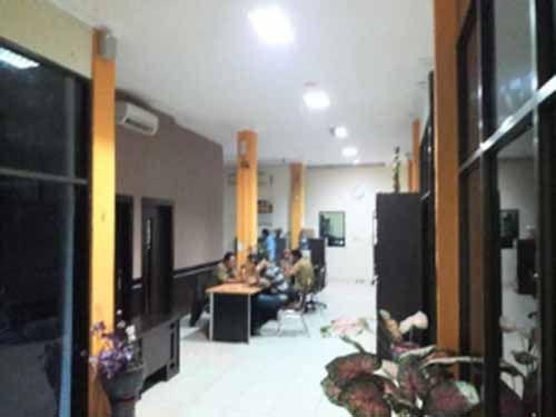 Empat Pegawainya Ditangkap Tim Saber Pungli Polda Riau, Kantor Dinas PU Kota Pekanbaru Sepi