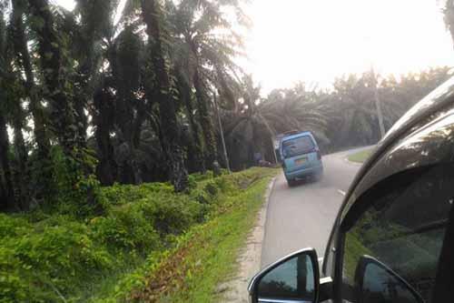 Begini Kondisi Jalur Mudik dari Riau Menuju Sumatera Utara