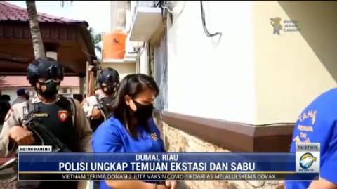 Ibu Rumah Tangga yang Ditangkap di Dumai Ini Ternyata Kurir Narkoba Jaringan Lintas Negara