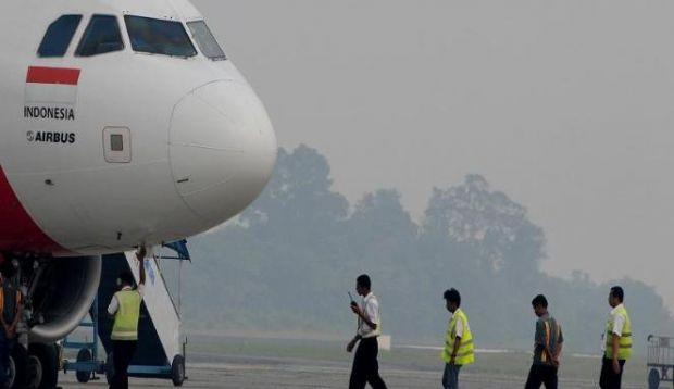 Status di Bawah Laik, Belum Ada Pesawat Mendarat di Pekanbaru