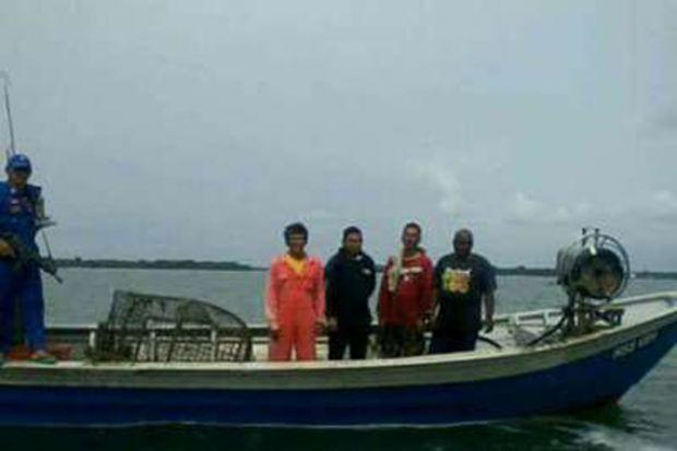 Mencuri Ikan di Perairan Rupat, Empat Nelayan Malaysia Ditangkap
