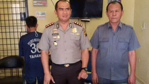 Bawa Sabu 250 Gram Naik Bus ALS Tujuan Lahat, Pria yang <i>Ngaku</i> Disuruh Seseorang di Dumai Ditangkap di Musirawas