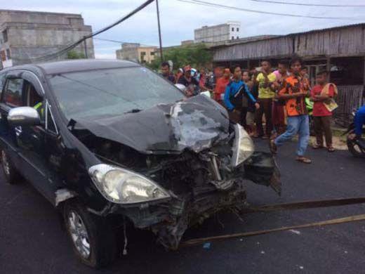 Diseruduk Mobil Pemkab Siak, Pengendara Motor Tewas di Persimpangan Jalan Sudirman-Pasar Baru Kecamatan Bukitbatu Bengkalis