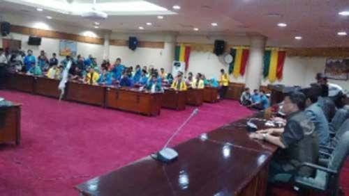DPRD Nyatakan Dukung Penuh Aksi Bela Rakyat 121 Badan Eksekutif Mahasiswa se-Riau