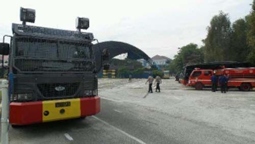 Jelang Aktivis BEM Gelar Aksi Bela Rakyat 121 Siang Ini, Gedung DPRD Riau Dijaga Ketat