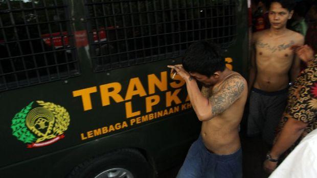 Napi Pelarian dari Rutan Sialangbungkuk Ini Sempat Kerja di Bengkel Kakaknya di Medan