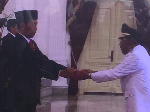 Wan Thamrin Hasyim Resmi Jadi Wakil Gubernur Riau