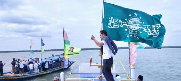 <i>Sholawat Beghanyut</i>, Cara Ulama Jaga Pulau Bengkalis