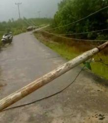 tiang-listrik-di-desa-tanjungpisang-kepulauan-meranti-tumbang-melintang-jalan-sepeda-motor-yang