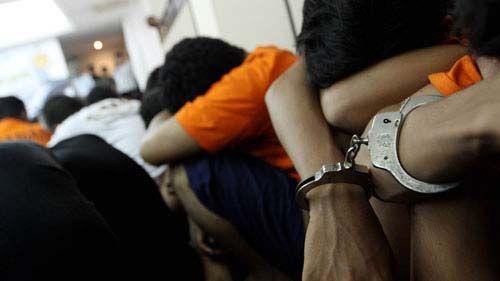 Tiga Oknum Polisi dan 2 Warga Sipil yang Diduga Terkait Jaringan Narkoba di Kandis Kabupaten Siak Dibekuk