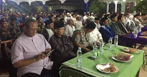Di Peringatan Nuzulul Quran, Kapolda Riau bersama Ketum PB NU KH Said Aqil Siradj Bicara Persatuan Bangsa
