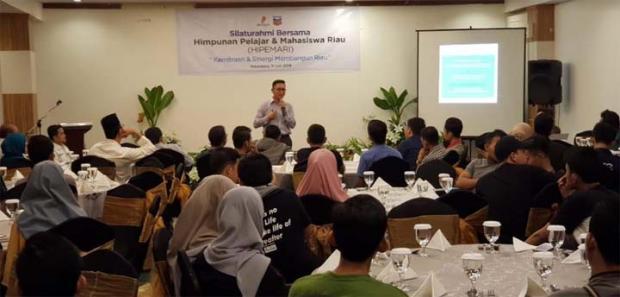 Perusahaan Migas Ini Undang Mahasiswa Riau di Jakarta Buka Puasa Bersama
