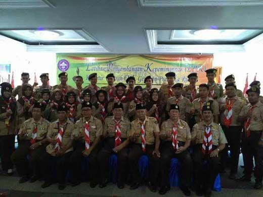 Pramuka se-Riau Digembleng Kepemimpinan untuk Bekal di Masa Depan