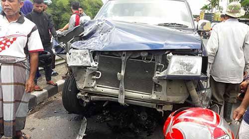 Dalam Dua Hari, Kecelakaan di Jalan Lintas Riau-Sumbar Renggut Tiga Nyawa