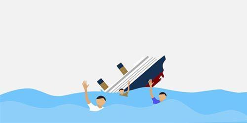 Tiga Warga Kepulauan Meranti ABK Kapal Karam di Perairan Selat Malaka Ditemukan Selamat oleh Nelayan Tradisional