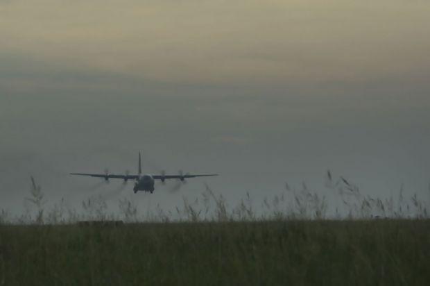 Pesawat TNI AU Tergelincir di Landas Pacu Lanud Roesmin Nurjadin Pekanbaru