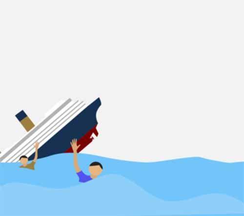 Ya Ampun... Perahu Terbalik Saat Asyik Mencari Ikan, Ayah dan Anaknya yang Berusia 7 Tahun Tenggelam di Perairan Kabupaten Bengkalis