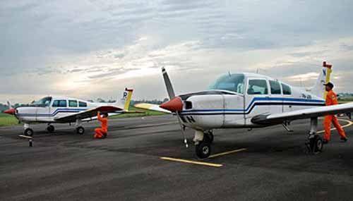 Pesawat Latih untuk Calon Pilot di Bandara Japura Rengat Segera Ditambah, tapi Sayangnya Parkiran Tak Muat Lagi