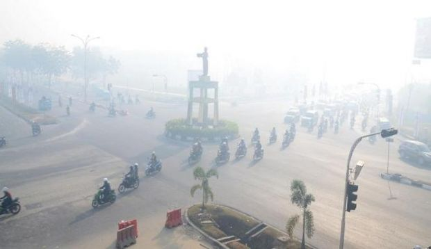 Akhirnya, Riau Dinyatakan Darurat Asap!