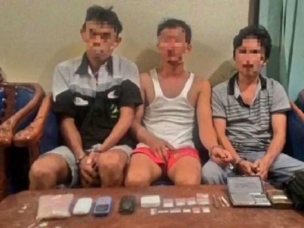 Jualan Sabu, Oknum Sekuriti dan Staf Kantor Desa Ditangkap Aparat Polsek Mandau