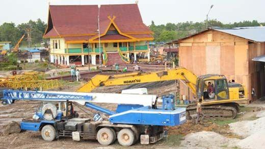Sekdaprov Ahmad Hijazi: Pembangunan <i>Riau Town Square</i> Perlu Dievaluasi, Disesuaikan dengan Aspek Hukum