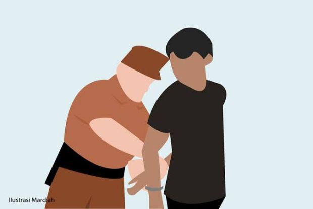 Dicari Selama Sepekan, Pria di Pelalawan Ini Kembali Ditahan dan Harus Bayar Denda Rp1 Miliar
