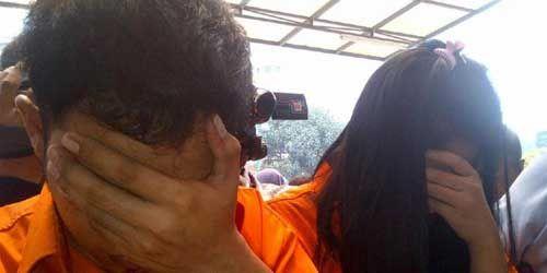 Diupah Rp300 Juta oleh Napi di Medan, Suami Istri Ini Berani Jemput 10 Kg Sabu ke Pantai Purnama Kota Dumai