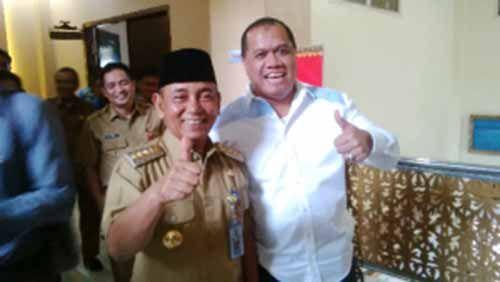 Diklaim HM Harris sebagai Calon Wakilnya di Pemilihan Gubernur Riau 2018, Ini Kata Bupati Inhu Yopi Arianto
