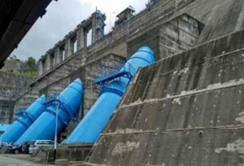Debit Air Waduk Menyusut karena Turbin Tak Berfungsi, PLTA Kotopanjang Kampar Terancam Jadi Bangunan Mangkrak