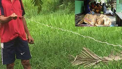 Inilah Setrum Jerat Babi yang Sebabkan Tewasnya Satu Keluarga di Pulau Kijang Indragiri Hilir