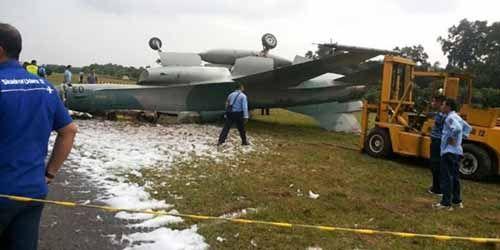 Pesawat F-16 Kecelakaan, Operasional Jet Tempur di Lanud Roesmin Nurjadin Pekanbaru Dihentikan Sementara