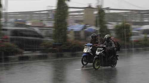 Info Cuaca: Beberapa Wilayah di Riau Berpotensi Diguyur Hujan