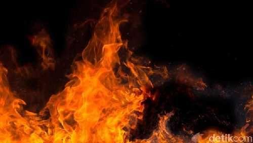 Kantor Kepala Desa Tanjungbeludu Inhu Terbakar, Kerugian Ditaksir Rp250 Juta