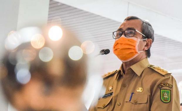 Senator Edwin Pratama Beri Saran ke Syamsuar: Tak Bisa dengan Cara-Cara Biasa Jalankan Tugas sebagai Gubernur Riau di Masa Pandemi