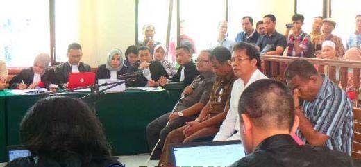 Keterangannya dalam Sidang Suap APBD Riau Berbelit-belit, Suwarno Membuat Hakim Kesal: Saudara Takut Sama Orang atau Allah?