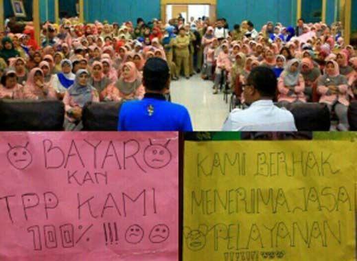Komentar Gubernur Riau Arsyadjuliandi Rachman soal Demo Tenaga Medis RSUD Arifin Achmad: Sabarlah, Jangan Emosi!