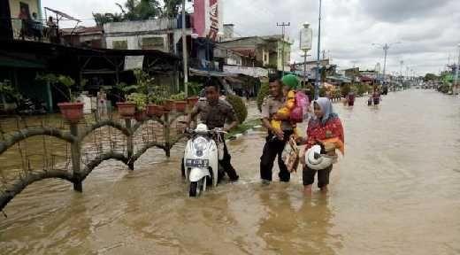 Banjir di Rokan Hulu Meluas, 6.379 Jiwa Jadi Korban
