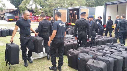 Kapolda Riau Brigjen Pol Zulkarnain Mendadak Kirim 200 Personel Brimob ke Batam Usai Ditelepon Mabes Polri