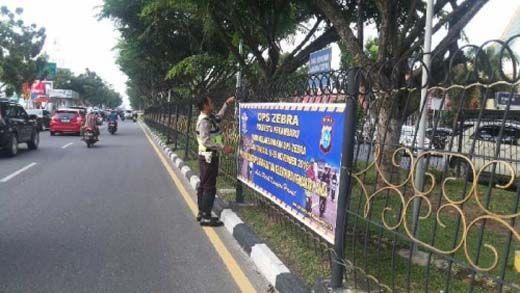 Besok, Operasi Zebra Siak 2016 Digelar di Pekanbaru, Siapkan Surat Kendaraan Anda kalau Tak Mau Disemprit, Ini Titik yang Disasar Polisi
