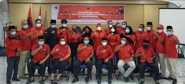 Musancab PDIP Kecamatan Bengkalis dan Bantan Selesai, Ini Sosok yang Didapuk Jadi Ketua