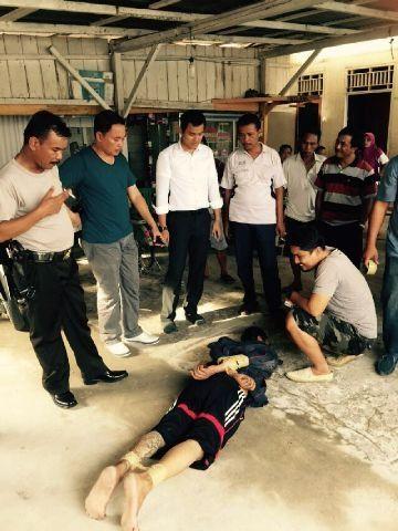 Oalah… Ternyata, Tahanan yang Kabur dari RS Bhayangkara Polda Riau Itu Sudah Tiga Kali Masuk Penjara