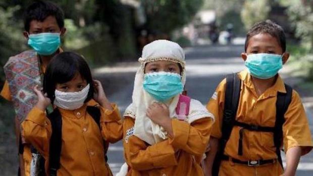 Data Pusat Krisis Kemenkes: 144.219 Warga Terkena ISPA karena Karhutla