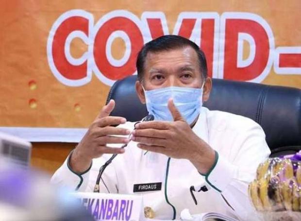 """Wali Kota Pekanbaru Bilang Ada Orang yang Positif Corona dan Tergolong """"Intelek"""" Datang ke Puskesmas tanpa Masker"""