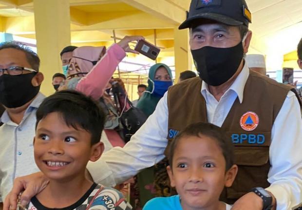 "Syamsuar Masih Dipanggil ""Pak Bupati"" di Sungaiapit Siak, Warganya Lupa kalau yang Disapa Sudah Jadi Gubernur Riau"