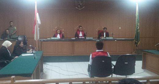 Pembunuh Prajurit Kostrad di Purna-MTQ Pekanbaru Divonis 9 Tahun Penjara
