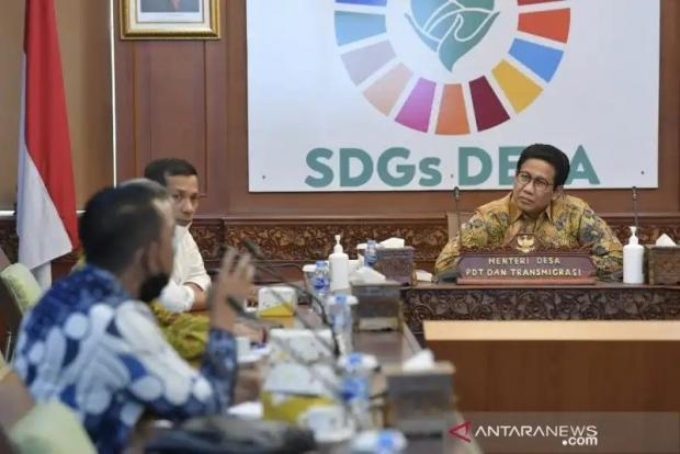 Kementerian DTT Rencanakan Kepulauan Meranti Jadi <i>Pilot Project</i> SDGs Desa tanpa Kemiskinan