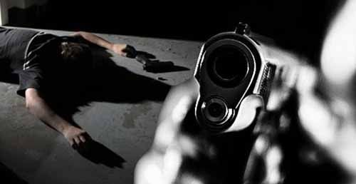 Sadis, Toke yang Dirampok di Jalan Pekanbaru-Bangkinang Tetap Ditembak Pelaku meski Korban Sudah Terjatuh ke Dalam Parit