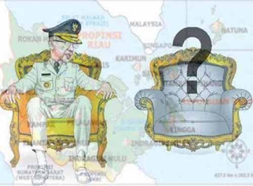 """Meski Gubernur Arsyadjuliandi Blakblakan Bilang """"Kesengsem"""" pada Wan Thamrin Hasyim, tapi Panlih Tegaskan Wakil Gubernur Dipilih DPRD Riau"""