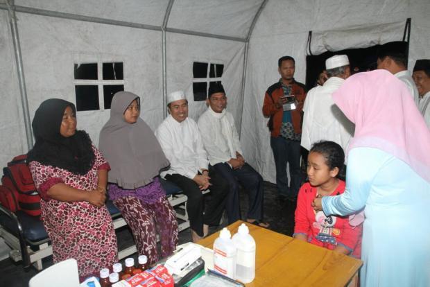 Pascabanjir, Pemkab Siak Sediakan Posko Kesehatan Gratis di Kecamatan Tualang
