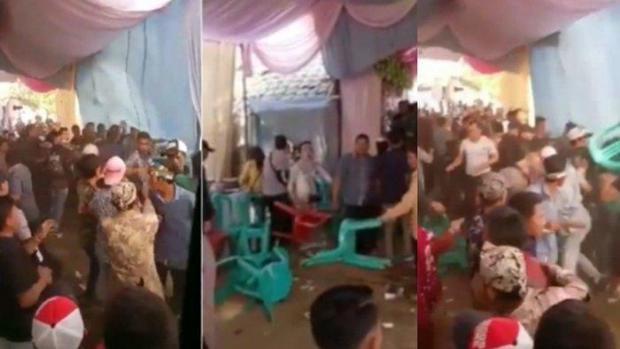 """Pesta Pernikahan Pegawai Bank Langsung Bubar saat Wanita Ini Muncul Bawa 3 Anak, """"Itu Suami Saya"""""""